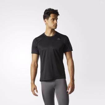 ซื้อ/ขาย ADIDAS MEN เสื้อวิ่งผู้ชาย รุ่น RS SS TEE M - BP7430 (BLACK)
