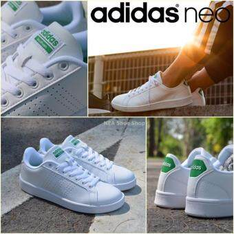 Adidas NEO Cloudfoam Advantage Clean VS White/Green
