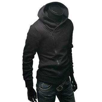 Amartซิปแจ็กเก็ตมีฮู้ดเสื้อฮู้ดขนเสื้อนอกลำลองกีฬาแฟชั่นเสื้อผ้าผู้ชายสูท