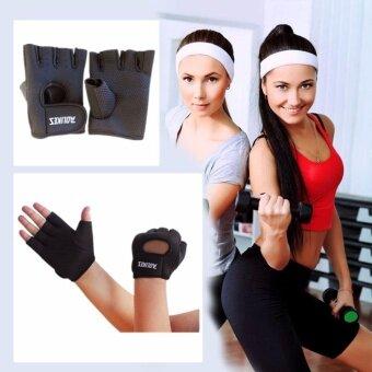 AOLIKES ถุงมือสำำหรับปั่นจักรยาน และ ออกกำลังกาย