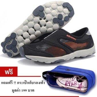 ประเทศไทย รองเท้า aquatwo 503 3 in 1 ใส่ออกกำลังกายเล่นน้ำตกหรือใส่เดินเที่ยวได้ในคู่เดียว สีดำ