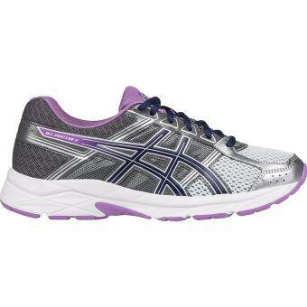 Asics Running Women's รองเท้าวิ่ง ผู้หญิง GEL-Contend 4(T765N-9333) Silver/Campanula/Carbon