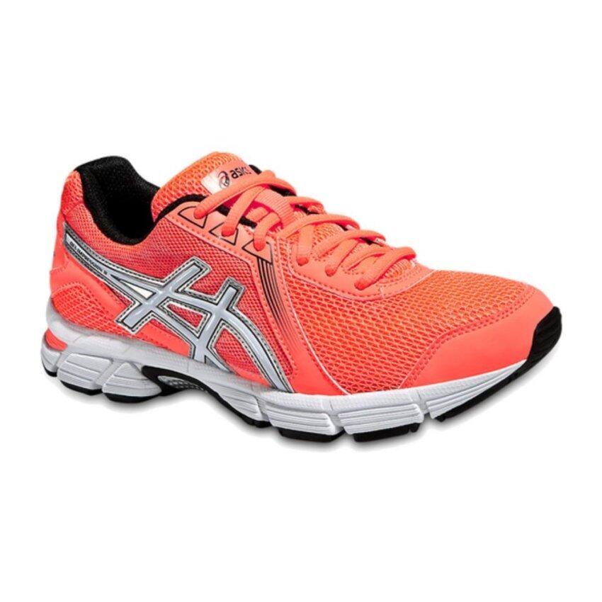 Asics Women Running Shoes รองเท้าวิ่งผู้หญิง GEL-IMPRESSION 8-FLASH CORAL/WHITE/BLACK
