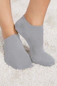 AungPao ถุงเท้าข้อสั้น เกาหลี แพ็ค 6 ชิ้น (สีดำ) - 4