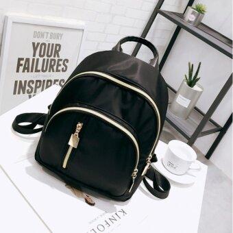 ดาวพร้อมกระเป๋าสะพาย กระเป๋า กระเป๋าเป้ กระเป๋าสะพายหลัง Backpack No.B01 - BLACK