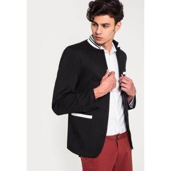 เสื้อเบลเซอร์ BB East Meets West Striped Collar สีดำ 901