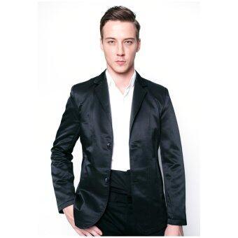 เสื้อสูทลำลอง B&B menswear & Fashion (BLACK)