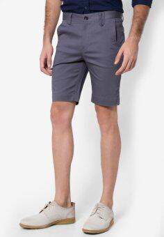 B&B menswear & Fashion กางเกงขาสั้น Chino (Light Grey) - 2