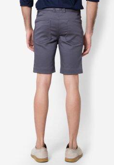 B&B menswear & Fashion กางเกงขาสั้น Chino (Light Grey) - 3
