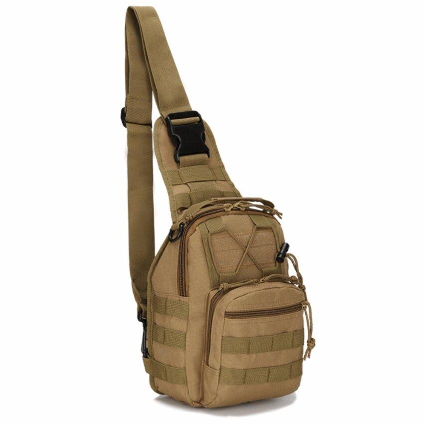 Bangkok life กระเป๋าคาดอก Size L(46x20x11cm) Travel Shoulder Bag