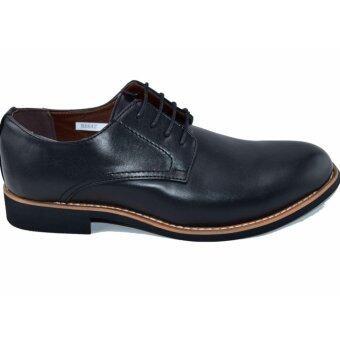BAOJI รองเท้าหนังผู้ชาย BAOJI รุ่น BX642(Black) - 2
