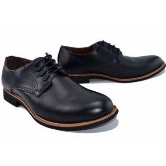 BAOJI รองเท้าหนังผู้ชาย BAOJI รุ่น BX642(Black) - 3