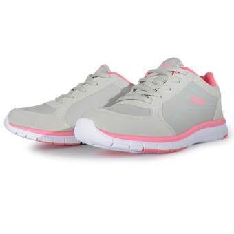 Baoji รองเท้าผ้าใบ แฟชั่น ลำรอง รุ่น BJW288-สีเทา/บานเย็น