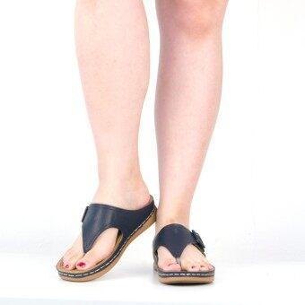 New Arrival# (New Arrival) BATA COMFIT รองเท้าผู้หญิงแตะลำลองแบบหูคีบ COMFIT SLIP ONสีน้ำตาลและ สีน้ำเงิน รหัส 6713305 / 6719305