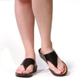 (SUMMER) BATA COMFIT รองเท้าผู้หญิงแตะลำลองแบบหูคีบ COMFIT SLIP ON สีดำ รหัส 6716830