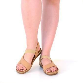 BATA รองเท้าผู้หญิง ส้นแบนแบบรัดส้น LADIES FLATS SANDAL CONTEMP สีน้ำตาล และ สีดำ รหัส 5614602 / 5616602