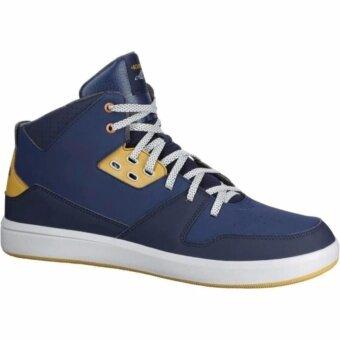 ซื้อ/ขาย รองเท้าบาสเก็ตบอลสำหรับผู้ใหญ่รุ่น BBALL MID 500 (สีน้ำเงิน/เบจ/เทา)