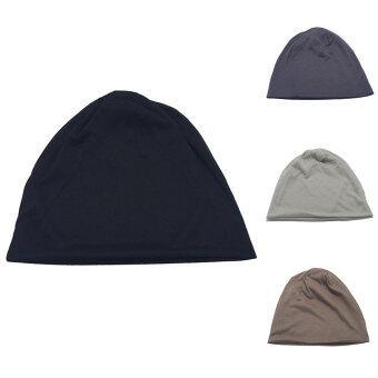 เพศ Beaniesฝ้ายปั่นซีเกมส์อุ่นฤดูเทศกาลสวมหมวกสีทึบสวมหมวกสวมหมวกสีดำ - 3