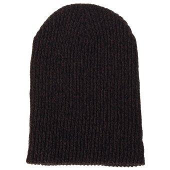หมวกผ้าฝ้ายทอทรงเพศ Beanies ไหมพรมหงอไซส์ใหญ่พิเศษหมวกหมวกอุ่นSkullies Toucas