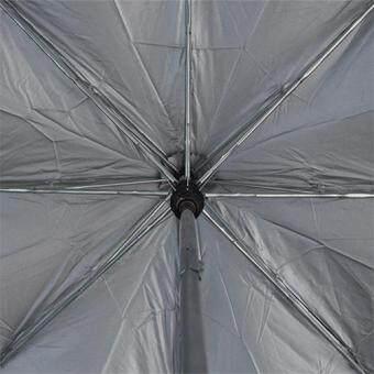 BGG 22inch UV cut Auto Silver Coating ร่ม ร่มออโต้ เคลือบเงิน กันuv 22นิ้ว (ม่วง)