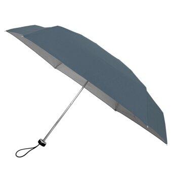 BGG UV Cut Tiny Folding Umbrella ร่ม ร่มพับ กัน uv เคลือบเงินขนาดเล็ก (เทาีเข้ม)