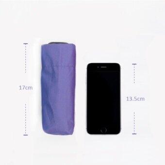 BGG UV Cut Tiny Folding Umbrella ร่ม ร่มพับ กัน uv เคลือบเงินขนาดเล็ก (ดำ)