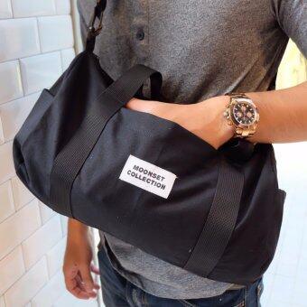 กระเป๋่่าถือ Big Duffle Bag - Black - 3