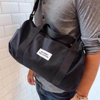 กระเป๋่่าถือ Big Duffle Bag - Black - 4
