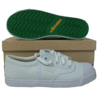 ขาย รองเท้ากีฬา รองเท้าฟุตซอลเด็ก Breaker BK-4x4 ขาว
