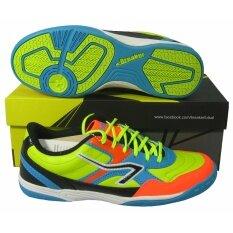 รองเท้ากีฬา รองเท้าฟุตซอล BREAKER CM-002 เลม่อน