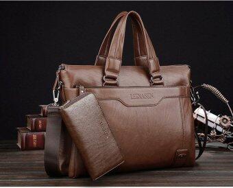 ... Business Men Shoulder Bag Messenger Bag Laptop Computer Oil WaxCowhide Leather Briefcase Men's Tote Handbag ...
