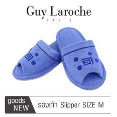 รองเท้าสวมใส่ในบ้านและสำนักงาน by GUY LAROCHE ( Size M ) สีฟ้า