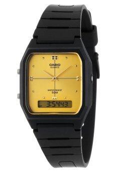 Casio นาฬิกาข้อมือชาย,หญิง รุ่น AW-48HE-9AVDF - Black