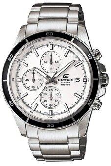 CASIO EDIFICE นาฬิกาข้อมือสุภาพบุรุษ สีเงิน Stainless Strap รุ่น EFR-526D-7AVUDF