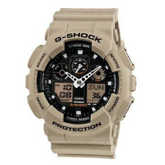 ประกาศขาย Casio นาฬิกาข้อมือ G-Shock รุ่น GA-100SD-8 (Brown light)