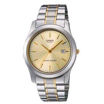 Casio นาฬิกาข้อมือ รุ่น MTP-1141G-9A (Silver/Gold)