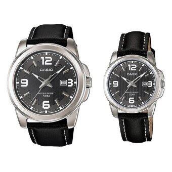 Casio Watch - รุ่น MTP-1314L-8AV สีดำ (Women+Men)