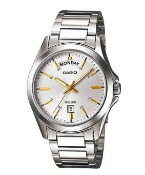 Casio Watch - รุ่น MTP-1370D-7A2V สีเงิน