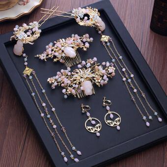 เสื้อผ้าซิวจีนจัดงานแต่งงานเจ้าสาวแต่งงาน Chaitou