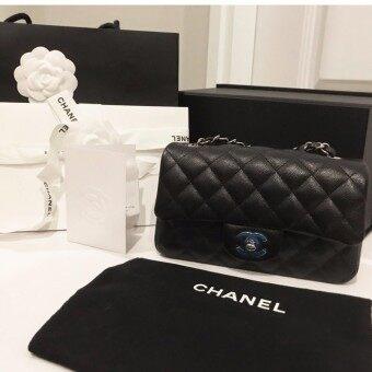 กระเป๋า Chanel Classic 8 นิ้ว รุ่นเย็บขอบ Seasonนี้ Holo 250: ของแท้ อุปกรณ์ครบ พร้อมใบเสร็จตัวจริง