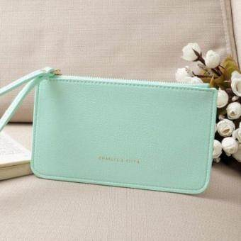 Charles & keith wristlet wallet (Light Blue)