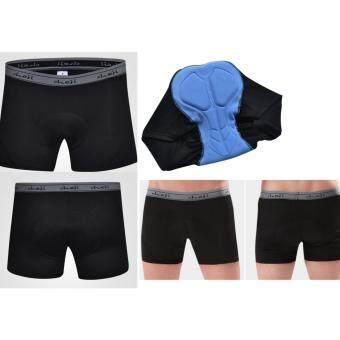 ประเทศไทย CHEJI กางเกงลำลอง (Boxer shorts) สำหรับใส่ปั่นจักรยานยี่ห้อ Cheji สีดำ