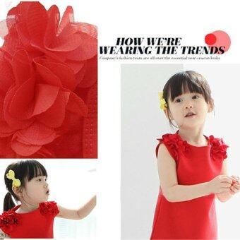 Children's summer dress fashion clothing explosion Princess Dresscute Korean girls skirt-pink - intl - 4
