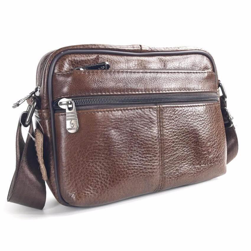 Chinatown Leather กระเป๋าสะพายหนังแท้ รุ่นกระเป๋าหน้า