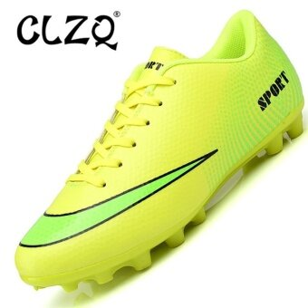 CLZQ Adult Football Shoes for Boots Boys Soccer Cleats Krossovkyfor Soccer Shoes-Green - intl
