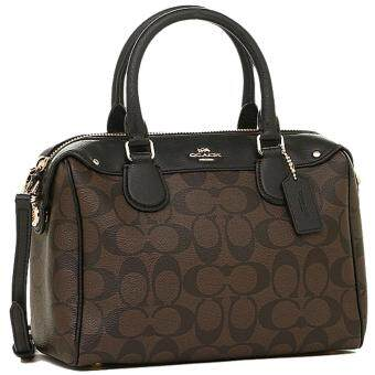 COACH coach F36702 IMAA8 signature mini Bennett satchel 2-WAY bag brown / black