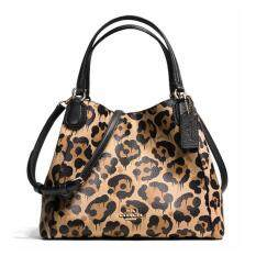 Coach  Edie Shoulder Bag in Wild Beast Print Leather Handbag Purse 36102 Wild Beast