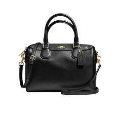COACH F36624 MINI BENNETT SATCHEL IN CROSSGRAIN LEATHER