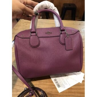 COACH F57521 MINI BENNETT SATCHEL IN CROSSGRAINLEATHER  #Free ems