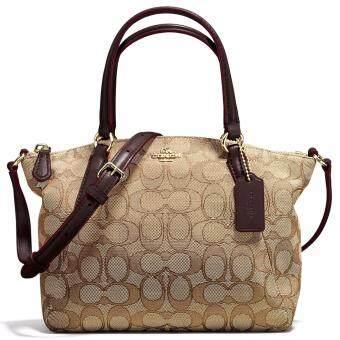 กระเป๋า COACH F57830 MINI KELSEY SATCHEL IN OUTLINE SIGNATURE(IMC7C)